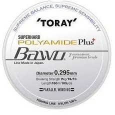 TORAY BAWO POLYAMIDE PLUS - OLIVE GREEN 0,210mm 150m