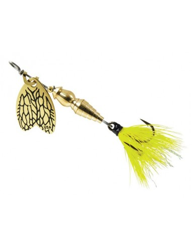 Rotativa Mepps Thunder Bug Fly Yellow...