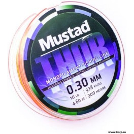 Mustad Thor Orange Braid 0,15mm