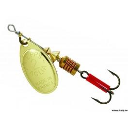 Rotativa Mepps Aglia Gold nr.2, 4.5g