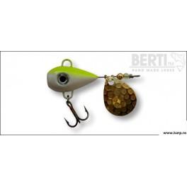 Bertilure Fish Helic Nr:2 Culoare Alb Galben Fluo 14gr