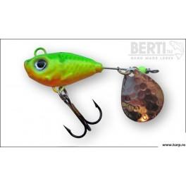 Berti Spinnertail FishHelic Nr.4 Culoare Fire Tiger 17g