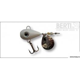 Berti Spinnertail Helic Nr.4 Culoare Alb Paleta Nickel 21g