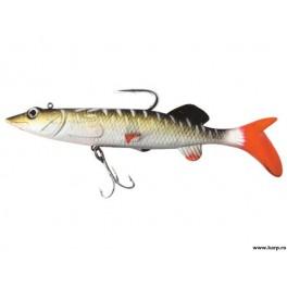 Set 4 bucati twister Baracuda LW009 de 8cm