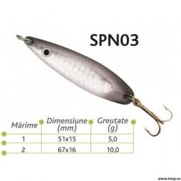 Lingurite oscilante Spn 03 Baracuda 10g