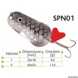 Lingurite oscilante Spn 01 Baracuda 5gr