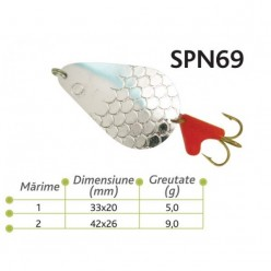 Lingurite oscilante Spn 69 Baracuda 5g