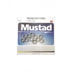 Inele despicate Mustad 4.9mm