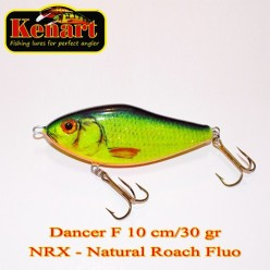 KENART DANCER 10 CM - 30 GRAME  Natural Roach Fluo