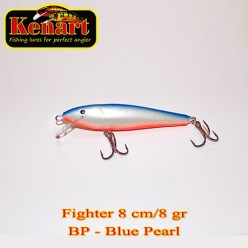 KENART FIGHTER 8 CM - 8 GRAME Blue Pearl