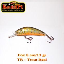 KENART FOX 8 CM - 13 GRAME Trout Real