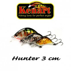 KENART HUNTER 3 CM - 2,5 GRAME  Low Orange