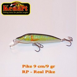 KENART PIKE 9 CM - 9 GRAME  Real Pike