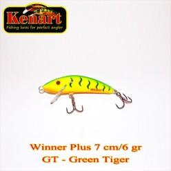 KENART WINNER PLUS 7 CM - 6 GRAME Green Tiger