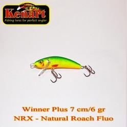 KENART WINNER PLUS 7 CM - 6 GRAME  Natural Roach Fluo