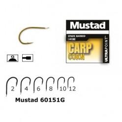 Carlige Aurii Mustad Carp Corn M.60151G 10 buc/plic