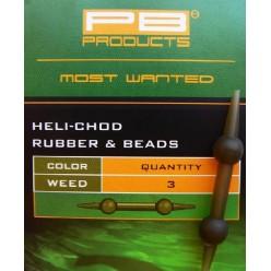 PB HELI-CHOD RUBBER-BEADS WEED