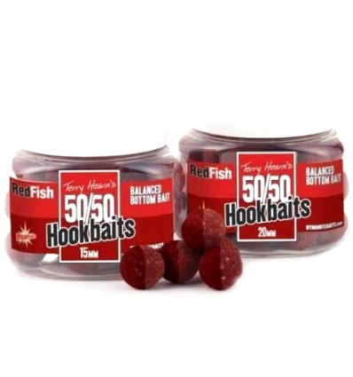 Boilies Dynamite Baits 50/50 Hookbaits Red Fish