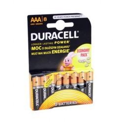 Baterie alcalina Duracell AAA sau R3 cod 81417139 blister cu 8bc