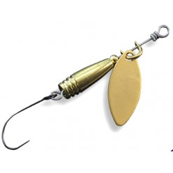 Lingurita rotativa Crazy Fish Slim Flicker Spinner 1.9g 1-MB