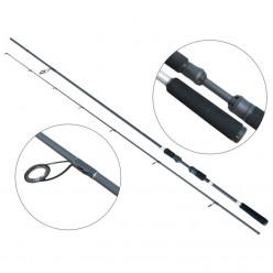 Lanseta spinning fibra de carbon Baracuda Black Pearl 2.05 m 8-23 g