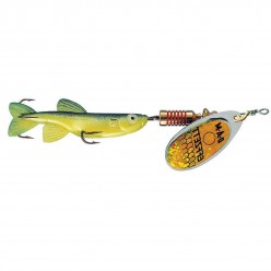 Rotativa 7gr DAM Effzett Minnow Yellow Black