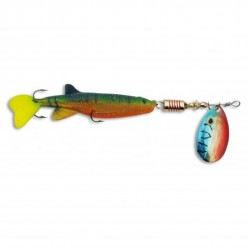 Rotativa 7g 12.0cm Zebco Minnow Flyer Green/Red