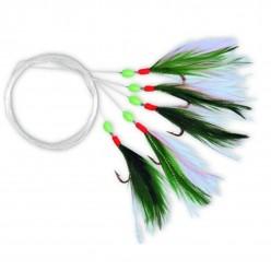 Streamer Zebco M Rig No.1/0 Green White