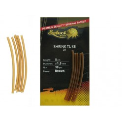 Tub termocontractabil Select Baits Shrink Tube Maro 10buc/plic