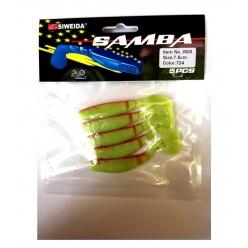 Twister Siweida Samba 724 7.5cm 5buc/plic