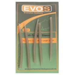 Conuri Evos Antitangle Sleeve Dark Green 10buc